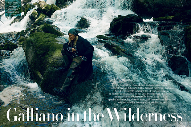 John Galliano for Vanity Fair
