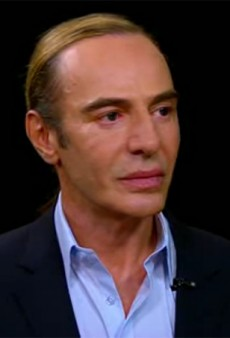 "John Galliano on Charlie Rose: ""I'm Not An Anti-Semite and I'm Not a Racist."" [Watch]"