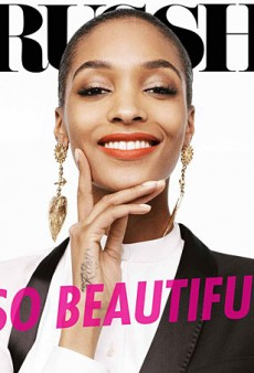 Jourdan Dunn Covers the June/July 2013 Issue of Russh (Forum Buzz)