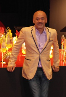 A Chat With Christian Louboutin at the Toronto Design Exchange