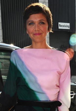 Maggie Gyllenhaal in Vionnet Pre-Fall 2013 Wrap Dress Maggie Gyllenhaal Diet