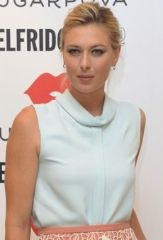 Maria Sharapova Promotes Her Candy Line in a Sweet Chloe Outfit