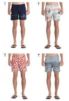 The Paris Review Is Now Selling Branded Swim Trunks at Barneys (In Collaboration with Orlebar Brown)
