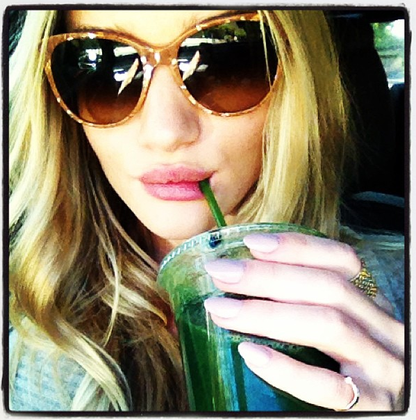 Rosie Huntington-Whiteley's Green Juice