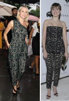 Seeing Triple: Naomi Watts, Sophia Bush and Hailee Steinfeld in H2T Lace and More Matching Celebs
