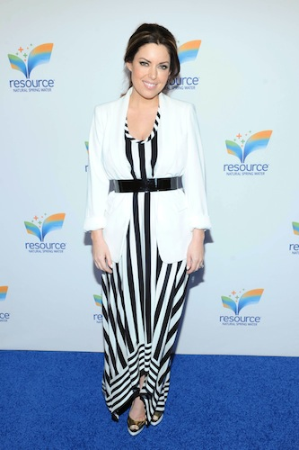 Actress Alyssa Milano hosted the national launch event for new premium still water brand resource Natural Spring Water