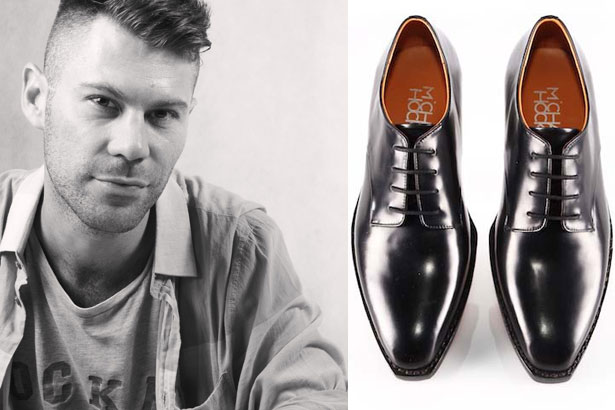 Michael Hockey, shoe designer