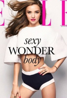 Miranda Kerr Goes to Korea, Wears Utilitarian Underwear for Vogue and Elle