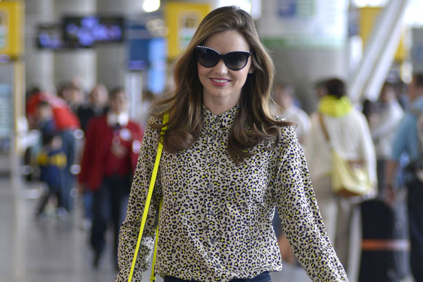 Miranda Kerr arrives at JFK Airport in New York, Image :TNYF/WENN.com
