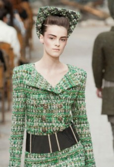 Chanel Haute Couture Fall 2013: Old World Meets New World