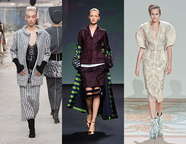 The Misses: Chanel, Christian Dior, Iris Van Herpen. Images: IMAXtree