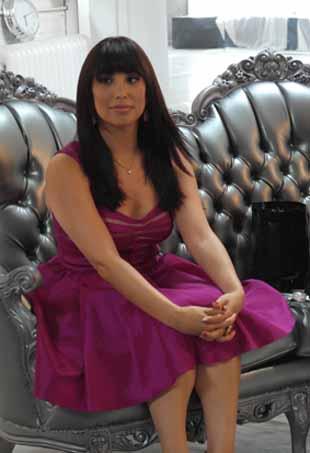 Cheryl Burke for Impress