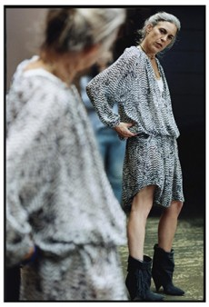 First Look: Isabel Marant Wearing Isabel Marant for H&M