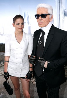 What It's Like to Stand Next to Karl Lagerfeld, a Photo Diary