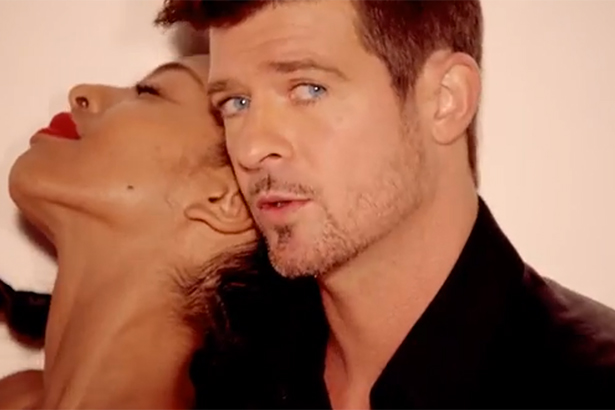 from Yahir is robin thicke gay