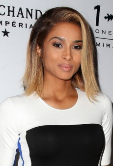 Get Ciara's Shimmery Nude Makeup Look