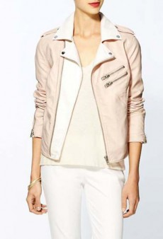 Ditch Your Work Cardigan and Wear a Summery Pastel Jacket Instead