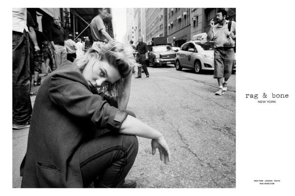 Lea Seydoux in Rag & Bone's F/W 2013 campaign
