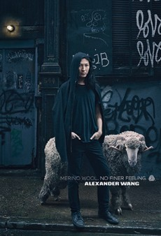 Alexander Wang Sells Merino Wool in a New Annie Leibovitz-Lensed Campaign
