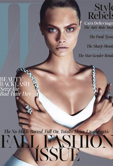 More September Issues: Cara Delevingne for W Magazine, Saskia de Brauw for Vogue Paris