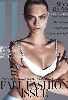 More September Issues: Cara Delevingne for W Magazine, Saskia de Brauw for Vogue Paris