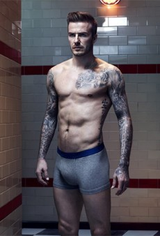 So Here's Another Photo of David Beckham in His Underwear for H&M