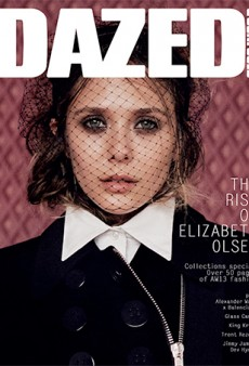 September Issues: Elizabeth Olsen Covers Dazed & Confused