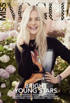 Elle Fanning Looks Fresh and Beautiful On Miss Vogue Australia's Debut Issue (Forum Buzz)