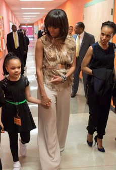Link Buzz: Michelle Obama Style Summit; 12-Year-Olds Employed at Old Navy Jeans Factory