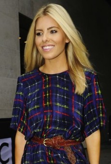 Mollie King Proves She's Mad for Plaid in Preen Line