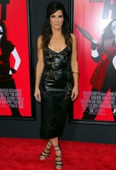 Sandra Bullock Turns Up 'The Heat' on the Red Carpet