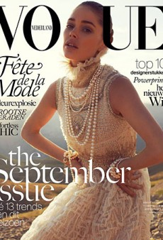 Doutzen Kroes Covers the Vogue Netherlands September 2013 Issue (Forum Buzz)