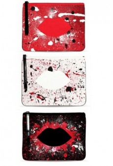 Lulu Guinness Collaborates on Clutch Range with Artist Joseph Steele