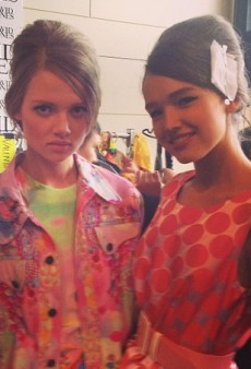 16 Sizzling Instagrams from the David Jones Summer 2013 Fashion Show
