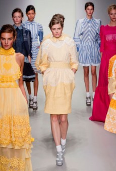 London Fashion Week Kicks Off with Bora Aksu Spring 2014
