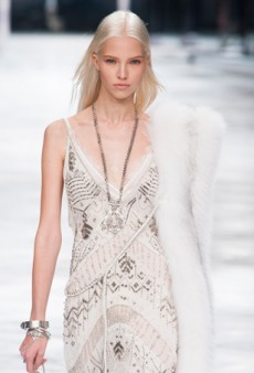 Roberto Cavalli Spring 2014: 1920s Glam Goes Boho and Rock