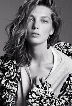 Here's Daria Werbowy for the Isabel Marant x H&M Collection Campaign