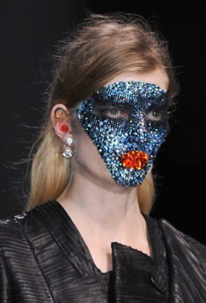 Link Buzz: Crystal Masks at Givenchy; Interviews with Rick Owens Steppers