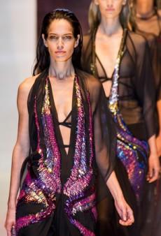 Gucci Spring 2014: Sexy, Black Tie Sportswear