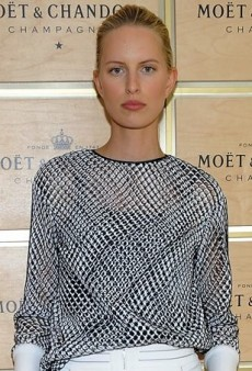 Karolina Kurkova Checks Out the 2013 US Open in Dion Lee