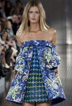 Mary Katrantzou Spring 2014: High Voltage Prints from Head to Toe