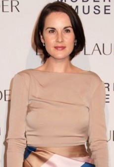 Michelle Dockery Marks the Launch of Modern Muse in Vionnet
