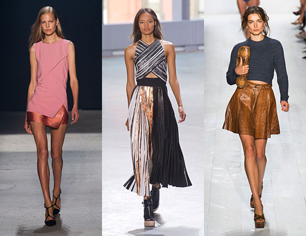 The Hits: Narciso Rodriguez, Proenza Schouler, Michael Kors. Images via IMAXtree.