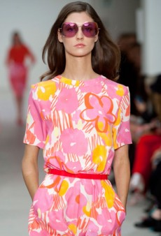 Matthew Williamson Spring 2014: Upbeat and Floral