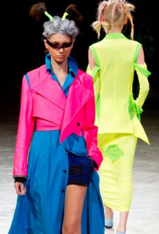 Yohji Yamamoto Spring 2014: A Striking Color Palette