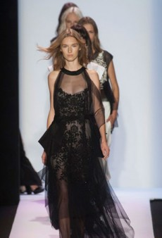 BCBGMaxAzria Spring 2014: Black Never Looked So Good for Spring