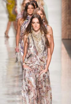 Etro Spring 2014: Paisley, Paisley…and More Paisley