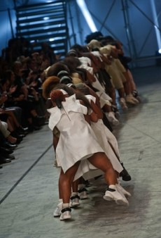 Rick Owens Spring 2014: A Step in the Right Direction?