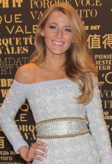 Blake Lively Celebrates Being Named the Newest Face of L'Oréal Paris in Balmain