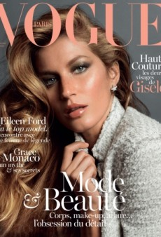 Gisele Bündchen Looks Orange On Vogue Paris November 2013 (Forum Buzz)
